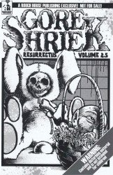 Rough House Publishing's Gore Shriek: Resurrectus Soft Cover # 2.5