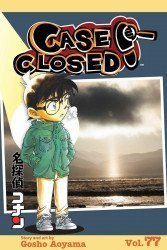 Shojo Beat Manga's Case Closed Soft Cover # 77