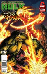 Marvel Comics's Incredible Hulk and the Human Torch: From the Vault Issue # 1b