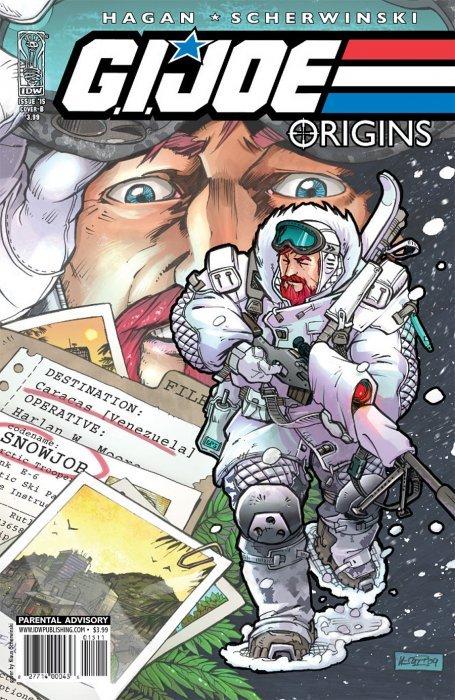 IDW Publishings GI Joe Origins Issue 15b