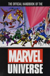 Marvel Comics's Official Handbook of the Marvel Universe Hard Cover # 1