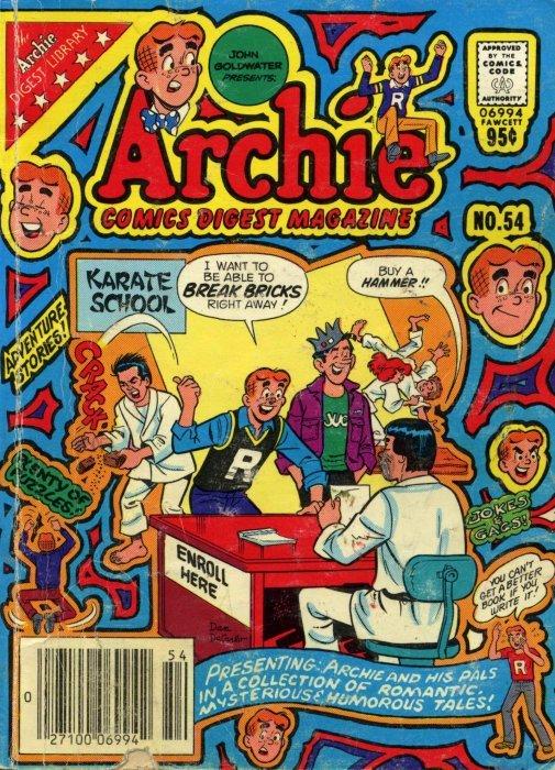 Archie Comics Digest #7  1974  160 pages VG+ cond M16