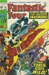 Marvel Comics's Fantastic Four Issue # 99