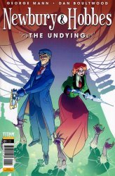 Titan Comics's Newbury & Hobbes: The Undying Issue # 1