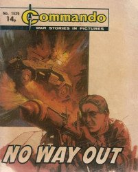 D.C. Thomson & Co.'s Commando: War Stories in Pictures Issue # 1529
