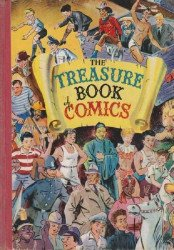Odhams Press Ltd.'s Treasure Book of Comics Hard Cover # 1
