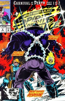 Marvel Comicss Ghost Rider Blaze Spirits Of Vengeance Issue 9