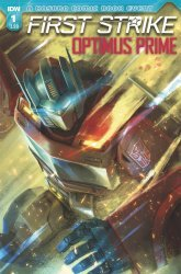 IDW Publishing's Optimus Prime: First Strike Issue # 1