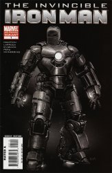 Marvel Comics's Invincible Iron Man Issue # 1-2nd print-a