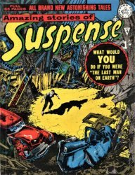 Alan Class & Company's Amazing Stories of Suspense Issue # 4