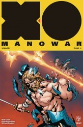 Valiant Entertainment's X-O Manowar Issue # 11b