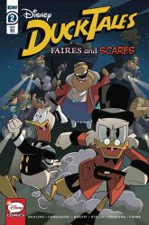 IDW Publishing's Ducktales: Faires and Scares Issue # 2ri