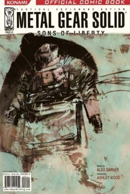 Metal Gear Solid: Sons of Liberty Issue # 2 (IDW Publishing)