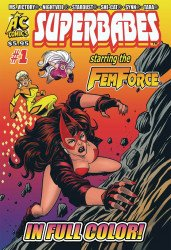 AC Comics's Superbabes Comics Issue # 1