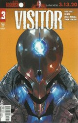 Valiant Entertainment's The Visitor Issue # 3c