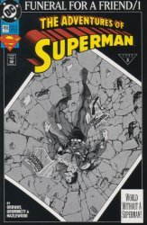 DC Comics's The Adventures of Superman Issue # 498