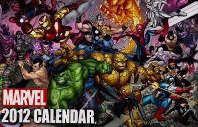Marvel's Marvel Calendar Issue # 2012