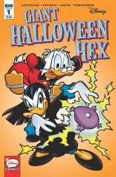 IDW Publishing's Disney's Giant Halloween Hex Issue # 1