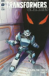 IDW Publishing's Transformers: Galaxies Issue # 7