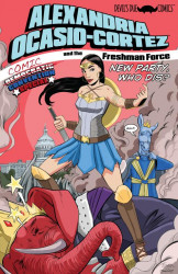 Devil's Due Publishing's Alexandria Ocasio-Cortez and the Freshman Force Issue # 1b