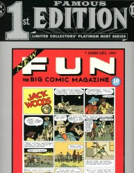 DC Comics's Famous 1st (First) Edition: New Fun Issue # 1