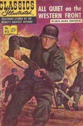 Gilberton Publications's Classics Illustrated #95: All Quiet on the Western Front Issue # 1b