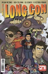 Oni Press's The Long Con Issue # 1