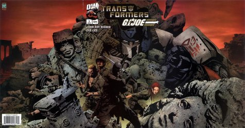 Dreamwave's Transformers / G.I. Joe Issue # 1