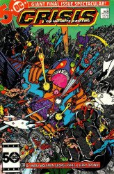 DC Comics's Crisis on Infinite Earths Issue # 12
