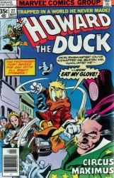 Marvel Comics's Howard the Duck Issue # 27