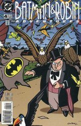 DC Comics's Batman and Robin Adventures Issue # 4