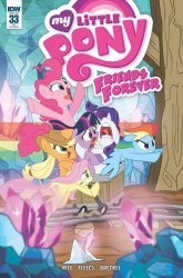 IDW Publishing's My Little Pony: Friends Forever Issue # 33ri