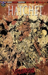 American Mythology's Adam Green's Hatchet: Vengeance Issue # 3c