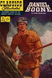 Gilberton Publications's Classics Illustrated #96: Daniel Boone Issue # 4