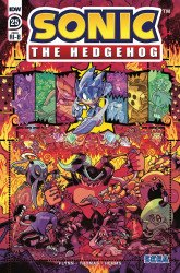 IDW Publishing's Sonic the Hedgehog Issue # 25ri-b