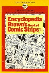 Bantam Books's Encyclopedia Brown's Book of Comic Strips Soft Cover # 1