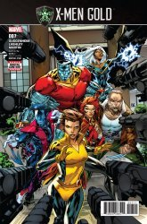 Marvel Comics's X-Men Gold Issue # 7