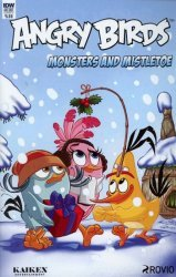 IDW Publishing's Angry Birds Comics Quarterly: Monsters and Mistletoe Issue # 1