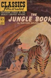 Gilberton Publications's Classics Illustrated #83: The Jungle Book Issue # 9
