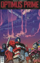 IDW Publishing's Optimus Prime Issue # 13