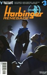 Valiant Entertainment's Harbinger: Renegade Issue # 3c