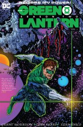DC Comics's Green Lantern: Season Two Hard Cover # 1