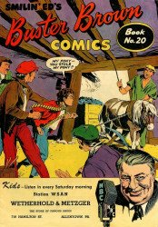 Buster Brown Shoes's Buster Brown Comics Issue # 20w&m