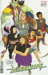 Marvel Comics's Runaways Issue # 34b