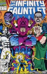 Marvel Comics's The Infinity Gauntlet Issue # 5