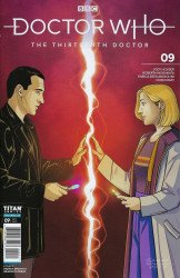 Titan Comics's Doctor Who: 13th Doctor Issue # 9c
