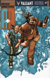 Valiant Entertainment's A&A Issue # 1i