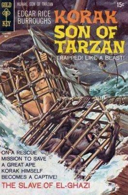 Korak Son of Tarzan 37 Gold Key 1970