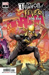 Marvel Comics's Typhoid Fever / Iron Fist Issue # 1