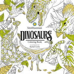IDW Publishing's Dinosaurs: A Smithsonian Coloring Book Soft Cover # 1